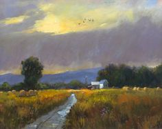 Farm before the storm, Helmut Pete Beckmann