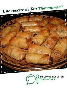 Nems au poulet par Schotzilla. Une recette de fan à retrouver dans la catégorie Entrées sur www.espace-recettes.fr, de Thermomix®.