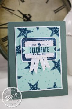 Dawn Woleslagle for Wplus9 featuring Label Layers 4 stamp set and die, So 80's stamp set and Banner Trio die.