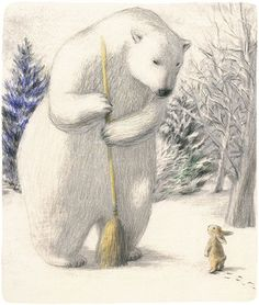 Okada Chiaki 岡田千晶作品 - is this where the bear & the hare came from - john lewis??