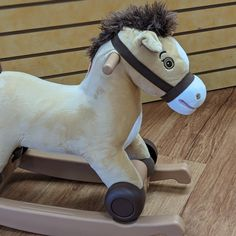Check out this rocking horse! It has two modes. ($30) #gentlyused #buysellrepeat #baby #infants #toddlers #fayettevillemoms #fortbraggnc #fayettevillenc #children #kids #onceuponachildfayettevillenc Infants, Children, Kids, Toddlers, Horse, Check, Baby, Young Children, Young Children