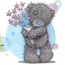 Tatty Teddy is a unique grey teddy bear with the blue nose, stitches and soulful eyes. Tatty Teddy, Teddy Bear Images, Teddy Bear Pictures, Cute Images, Cute Pictures, Teddy Bear Drawing, Ted Bear, Kids Cartoon Characters, Nose Drawing