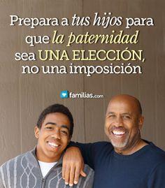 Paternidad en la adolescencia. Instruye a tu hijo y salva su futuro