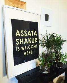 Assata Shakur, Minimal Decor, Welcome, Letter Board, Website, Nice, Poster, Minimalist Decor, Nice France