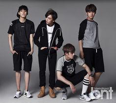 Hip-Hop Team (L to R): Wonwoo, Vernon, S.Coups, Mingyu