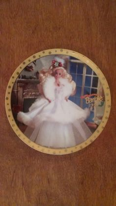 Barbie 1989 Happy Holidays Collector Plate