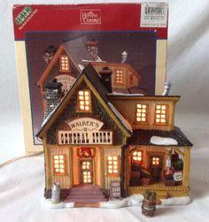 lemax harvest crossing walker general store christmas village lighted house 2000