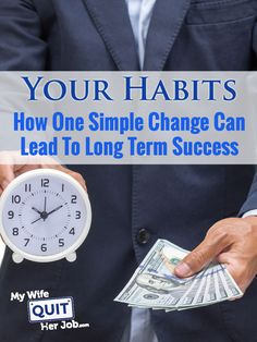 Improving Your Habits And How One Simple Change Can Lead To Business Success.