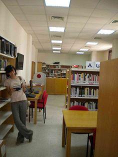 En 1955 se crea en Beirut el Centro Cultural Hispánico, que contaba con una colección de libros, pero no era  una biblioteca propiamente dicha. De 1994 a 2002, ya como Instituto Cervantes, la biblioteca ofreció servicios básicos, y desde 2002 dispone de servicios completos. Parte de la colección está en el aulario de Kaslik y en el Centro Cultural de la Fundación Serfardí, en Trípoli. http://beirut.cervantes.es/es/biblioteca_espanol/biblioteca_espanol.htm