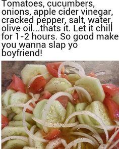#healthfood #healthyliving #health #healthy #healthychoices #healthylifestyle #healthylife #cumcumber #tomato #vinegar #peppers #goodfood #goodlife #salad #saladdressing #jamaicanfood #jamaica #newyork #miami #atlanta #california #newjersey #vegetables #vegetarian #veggies #vegan #olives #balsamic #italian by raybrissett