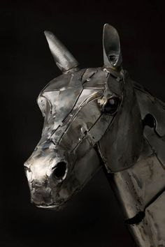 Andrew Chase's Steampunk Mechanical Horse