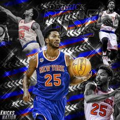 God told Derrick to rise, so Derrick Rose. -- #KnicksNation #Knicks #SportsPosters