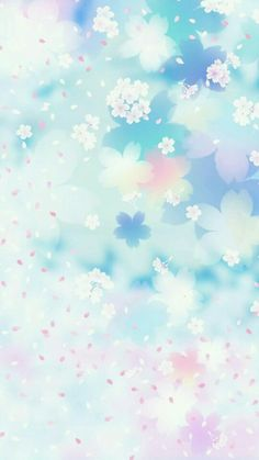 flowers and petals whatsapp wallpaper Iphone Wallpaper Sky, Kawaii Wallpaper, Pastel Wallpaper, Flower Wallpaper, Screen Wallpaper, Wallpaper Wa, Wallpaper Keren, Wallpaper Gallery, Background For Photography