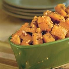 Glazed Butternut Squash - enjoy with Pinot Noir or Zinfandel!