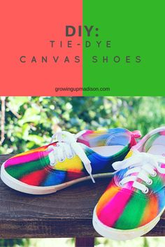 Money Tips for College Students: How to Budget featuring HP & DIY Tie-Dye Canvas Shoes - #BTSwithHP | Growing up Madison