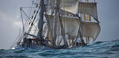 """The """"Belem""""  The three masted barque """"Belem"""" is the last 19th century French trading ship still under sail."""