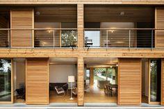 Reto Liechti - House on Lake Morat, Fribourg. Photos © Lucas Peters.