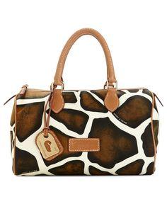 Dooney Bourke Handbag Nylon Classic Satchel Handbags Accessories Macy S Tip Click Pics For Best Price