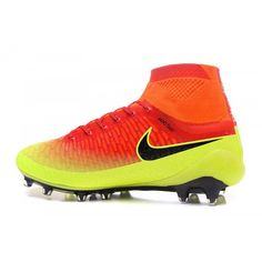 the latest 38e5d 29d84 Nike Magista Fotbollsskor - Bast 2017 Nike Magista Obra FG Gul Orange  Fotbollsskor