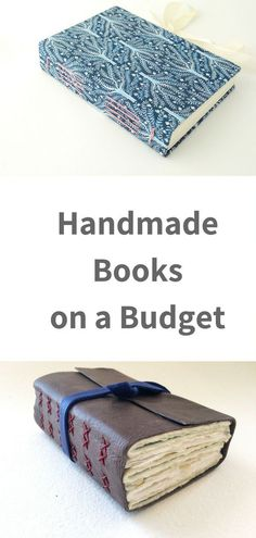 Read how you can save money when they create handmade journals diy book 10 Tips for Creating Handmade Books on a Budget Diy Crafts To Do, Book Crafts, Paper Crafts, Diy Paper, Homemade Journal, Homemade Books, Bookbinding Tutorial, Leather Bound Books, Budget Planer