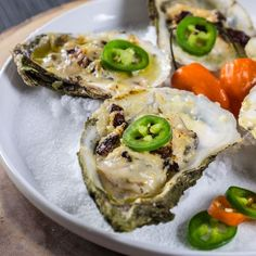 Grilled oysters with habanero butter - I Love Meat