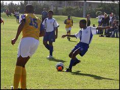 SCFC U13A vs Kensington. Bonga shoots!