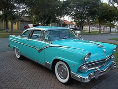 1955 Ford Fairlane Crown Victoria..Re-pin...Brought to you by #HouseofInsurance…