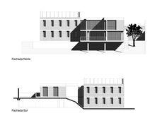 José Miguel Mantilla Salgado, JAG Studio · La Casa del Profesor de Historia Arch, Multi Story Building, Floor Plans, How To Plan, Studio, Architect Drawing, Facades, Houses, Professor