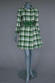 Belted Coat, ca. 1960sAndré Courrègesvia Kerry Taylor Auctions