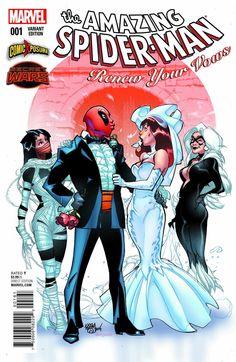Amazing Spiderman Renew Your Vows 1 Comicxposure Pasqual Ferry Variant Pre Sale | eBay