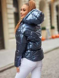 Moncler Jacket Women, Down Suit, Black Down, Elegantes Outfit, Puffy Jacket, Cool Girl, Jackets For Women, Winter Jackets, Adidas