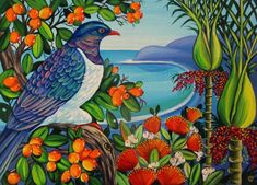 Northland Summer by Irina Velman - Art Prints New Zealand Wall Art For Sale, Spring Collection, New Zealand, Art Prints, Artist, Summer, Painting, Art Impressions, Summer Time
