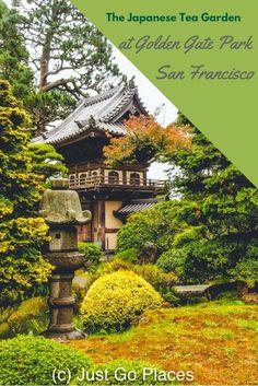 The Japanese Tea Garden in Golden Gate Park, San Francisco, CA