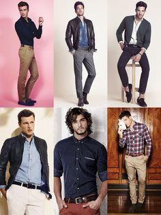 Men's Casual Shirts and Tucked-in Shirts Lookbook