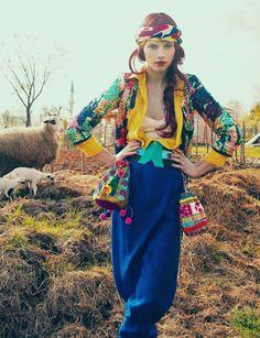 BOHEMIAN - BOHO - GYPSE - Colourful Knitwear