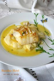 Bacalao Skrei con salsa de naranja El Ágora de Ángeles Chicken Salad Recipes, Fish Recipes, Low Carb Recipes, Healthy Recipes, Cod Fillet Recipes, Tasty, Yummy Food, Greek Chicken, Keto Meal Plan