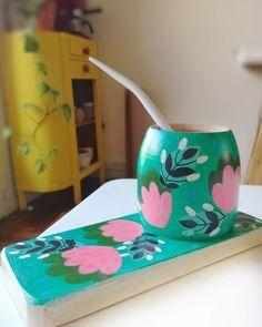 Indian Illustration, Concrete Planters, Box Art, Flower Art, Floral Prints, Hand Painted, Meraki, Diy, Crafts