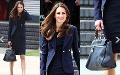 Kate in blue... ensemble pieces