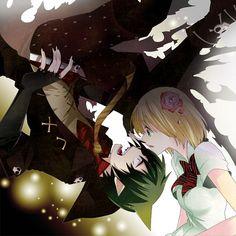 Blue Exorcist ~~ Cute yet awkward couple :: Amaimon and Shiemi
