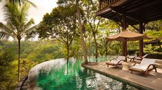 Destination Baby Moon! Como Shambhala  Estate in Ubud, Bali. Literally counting down the days...