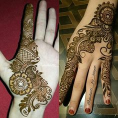 Best Floral Mehndi Designs with Step by Step Video Tutorial Stylish Mehndi Designs, Wedding Mehndi Designs, Mehndi Design Pictures, Beautiful Mehndi Design, Latest Mehndi Designs, Mehndi Designs For Hands, Mehndi Images, Henna Mehndi, Tatoo