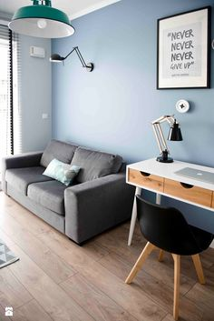 Retro and the minth - Średnia sypialnia małżeńska, styl skandynawski - zdjęcie od SHOKO.design