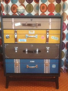 Suitcase dresser number 2