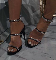 Fancy Shoes, Pretty Shoes, Me Too Shoes, Formal Shoes, Prom Shoes, Shoes Heels, Stiletto Heels, Aesthetic Shoes, Cute Heels