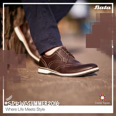 Flaunt yourself in the most stylish way with ‪#‎Bata‬. ‪#‎CentreSquare‬