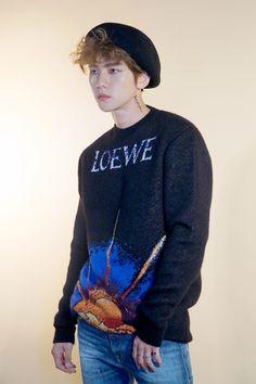 [210916 160921] #Baekhyun para photoshoot da revista Nylon Korea