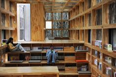 LiYuan Library – inside