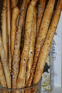 On the fifth day of Christmas The Pink Whisk sent to me….Party Breadsticks   Baking, Recipes and Tutorials - The Pink Whisk