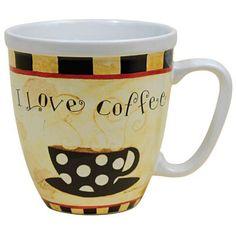 Lang Coffee Talk Jumbo Mug by Dan DiPaolo
