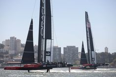 """If you're going to go somewhere, you might as well go there fast."" - Darren Bundock, ORACLE TEAM USA sailor"
